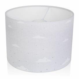 image-Cotton Drum Lamp Shade House of Hampton Size: 17.5 cm H x 20 cm W x 20 cm D