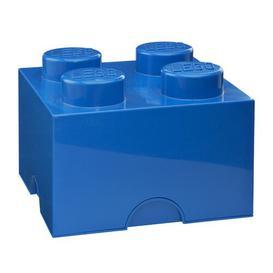 image-Brick Toy Box LEGO Finish: Blue