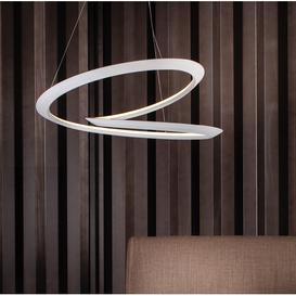 image-Kepler 1-Light LED Geometric Pendant Nemo Finish: White, Colour Temperature: 2700 K