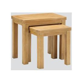 image-Andorra Washed Oak Nest of Tables