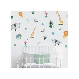 image-little home at John Lewis Safari & Friends Wall Stickers, Multi