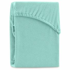 image-Hester 130 Thread Count Fitted Sheet Symple Stuff Size: European Single (90 x 200cm), Colour: Mint