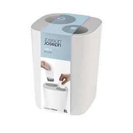 image-Joseph Joseph Split 8 Bathroom Waste Separation Bin