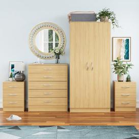 image-Audrina 4 Piece Bedroom Set Zipcode Design Colour: Pine