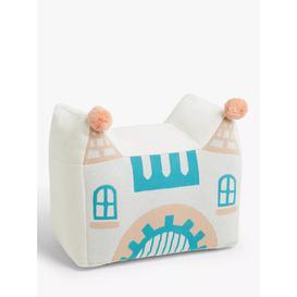 image-little home at John Lewis Castle Bean Bag Pouffe, Multi