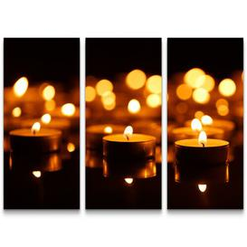 image-Candles Photographic Print Multi-Piece Image on Canvas East Urban Home