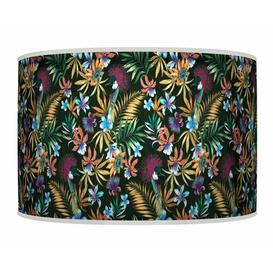 image-Polyester Drum Shade Bay Isle Home Colour: Yellow, Size: 20cm H x 30cm W x 30cm D, Type: Ceiling/Wall