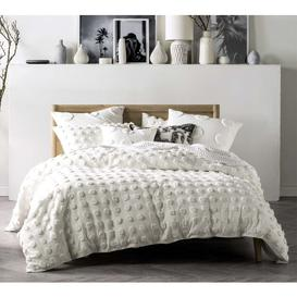 image-Pom Poms on Parade Bed Linen Set in Ivory (Extra Pair of Pillowcases)