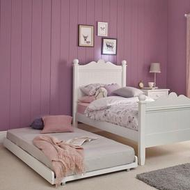image-Princess Single (3') Bed Frame with Trundle The Children's Furniture Company