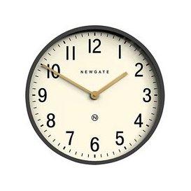 image-Newgate Clocks Mr Edwards Wall Clock, Dia.45cm, Moonstone Grey