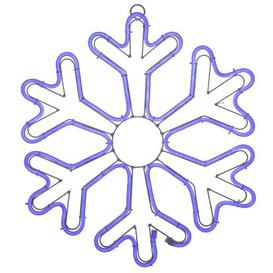 image-420 Blue Christmas Snowflake Neon Rope Light Mail Order Online Ltd