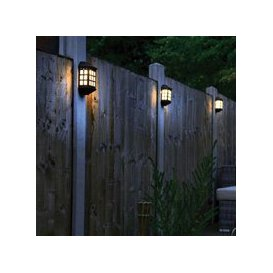 image-Pack of 4 Deluxe LED Solar Lights