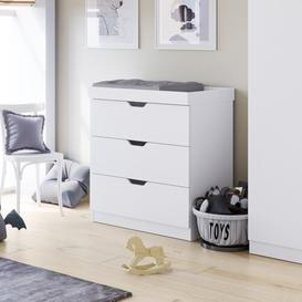 image-Coleby Chest of Drawers Changing Unit