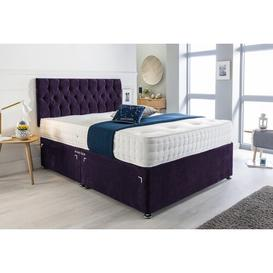 image-Fiona Divan Bed Ophelia & Co. Size: Small Double (4'), Storage Type: 4 Drawers