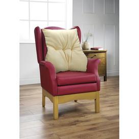 image-Holzman Lumbar Support Cushion Symple Stuff Colour: Cream