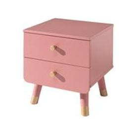 image-Billy Bedside Table - Terra Pink