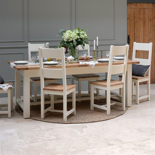image-Sussex Painted 180-220-260cm Extending Table
