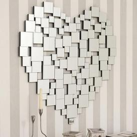 image-Heart Wall Mirror Clear
