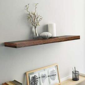 image-Shelvza Medium Wooden Wall Shelf In Old Style Oak