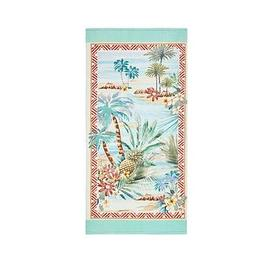 image-Accessorize Aloha Cotton Velour Beach Towel