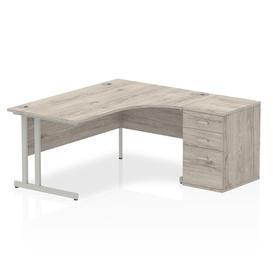 image-Zetta Executive Desk Ebern Designs Size: 73 cm H x 160 cm W x 80 cm D