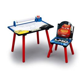 image-Disney Pixar Cars children's Activity Desk and Chair Cars