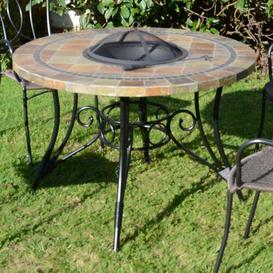 image-Joyce Stone Wood Burning Fire Pit Table Sol 72 Outdoor