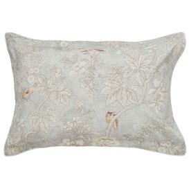 image-Sanderson Chiswick Grove Silver Oxford Pillow Case