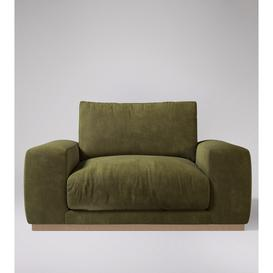 image-Swoon - Denver - Love Seat in Racing Green - Smart Leather