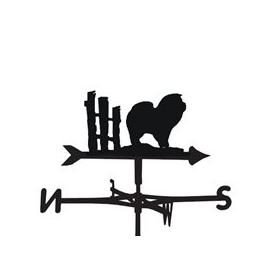 image-Weathervane in Chow Dog Design - Large (Traditional)