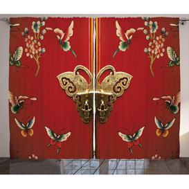 image-Mandala Pencil Pleat Blackout Thermal Curtains East Urban Home Dimensions per curtain: 225cm H x 140cm W