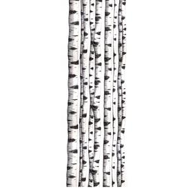 image-Noise absorbing wall tapestry SKOGSBRYN, 650x2200 mm, forest