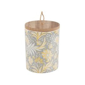 image-Scented Candle in Printed Ceramic Holder