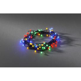 image-80 LED Berry Christmas String Light Konstsmide Colour: Red/Yellow/Green