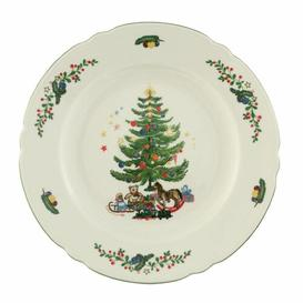 image-Marie Luise Ivory Christmas Dining Plate Seltmann Weiden
