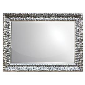 image-Rectangle Mirror Bloomsbury Market Finish: Silver, Size: 134.6 cm H x 81.3 cm W