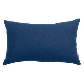 image-Lapis Blue Linen Boudoir Cushion
