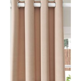 image-ANYDAY John Lewis & Partners Arlo Pair Lined Eyelet Curtains
