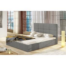 image-Girona Upholstered Bed Frame Selsey Living