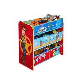 image-Toy Story Kids Bedroom Storage Unit With 6 Bins By Hellohome