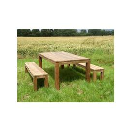 image-Bali Reclaimed Teak Bench Set