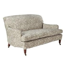 image-Coleridge 2 Seater Sofa Cover Chinese Fan Print - Taupe