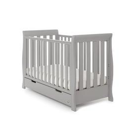image-Stamford Mini 2 Piece Nursery Furniture Set Obaby Colour: Warm Grey