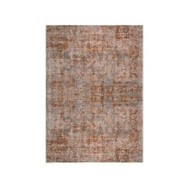 image-Reign Rust Traditional Rug Brown and Grey