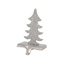 image-Libra Silver Aluminium Tree Stocking Holder Large - Xmas-18