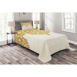 image-Reanna Medieval Baroque Bedspread Set with Pillow Shams