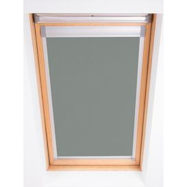 image-Bloc Blackout Skylight Blind with Silver Frame