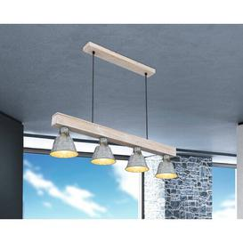 image-Desroches 4-Light Kitchen Island Linear Pendant Williston Forge