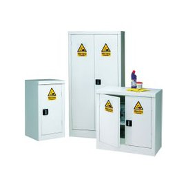 image-Acid And Alkali Storage Cupboard, White, Free Standard Delivery