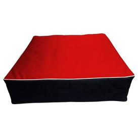 image-Farnborough Pillow Archie & Oscar Size: 50cm H x 75cm W x 15cm D, Colour: Red